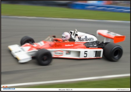 McLaren M23-6 Limited edition print