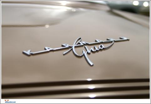 Karmann Ghia image Poster Print