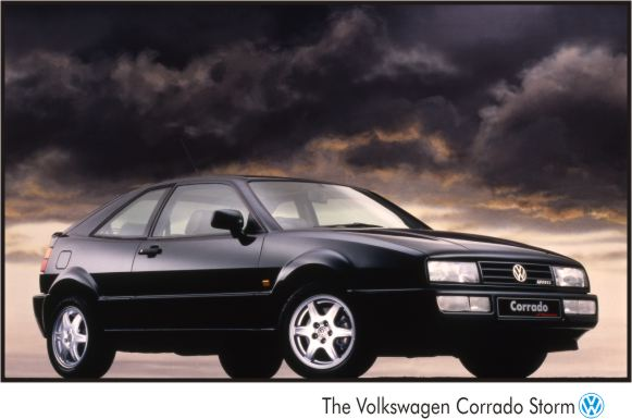 VW Corrado Storm VR6 Poster Stunning Limited Edition Very Rare